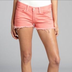 J Brand  Cut Off Jeans Shorts Size 26
